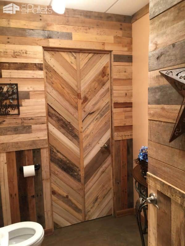 1000 Pallets Man Cave Pallet Ceilings & Roofs Pallet Furniture