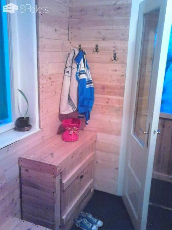 All My Furniture Is Made out of Pallets Pallet Cabinets & Wardrobes