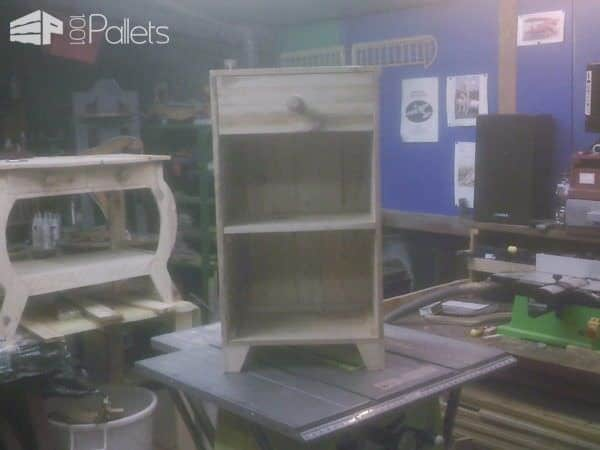 fabrication de meuble en palettes furniture from