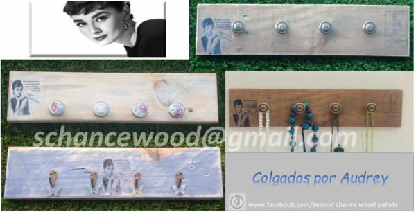 Jewelry Hangers from Pallet Wood / Colgadores Hechos Con Madera De Pallet Pallet Home Accessories
