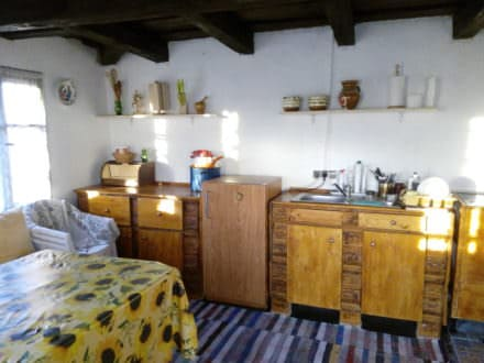 Kitchen Furniture Out Of 5 Wooden Pallets