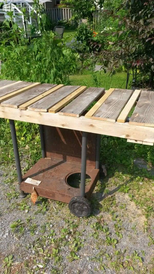 1001pallets.com-my-old-bbq-remade-into-a-rustic-serving-cart4