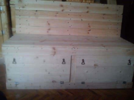 My Pallet Sofa out of 4 Pallets