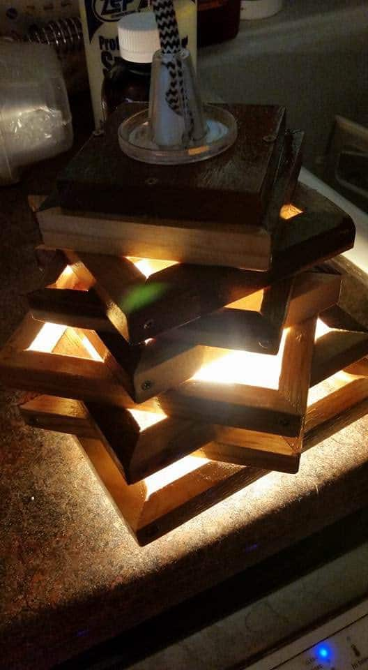 Pallet Lamp Pallet Lamps, Pallet Lights & Pallet Lighting