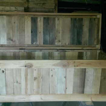 Storage Chest From Discarded Pallet Planks