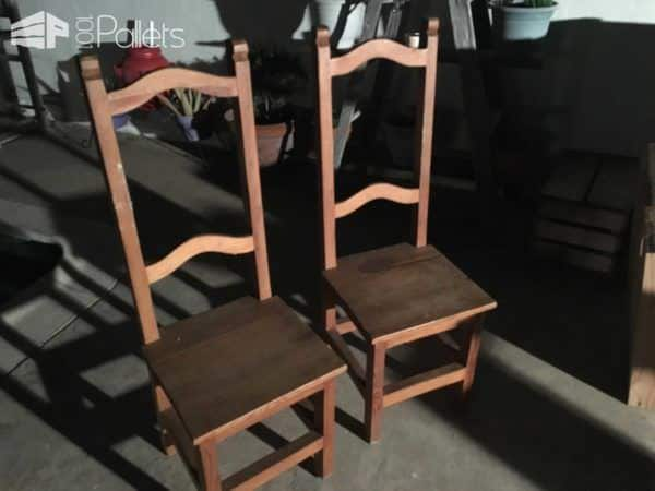 1001pallets.com-turning-a-couple-of-old-chairs-in-a-bench