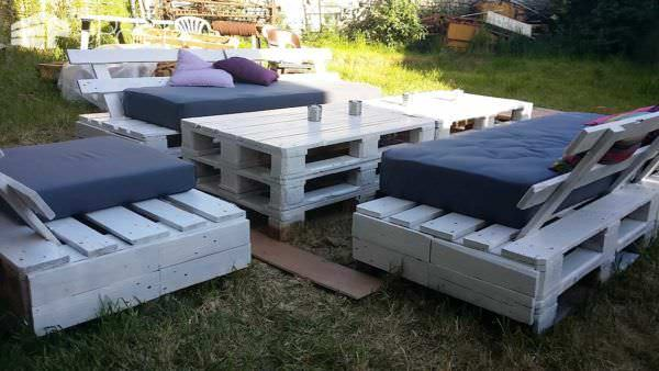 25 Pallets Garden Set Lounges & Garden Sets