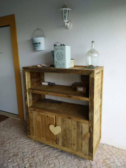 Cabinets from Pallets