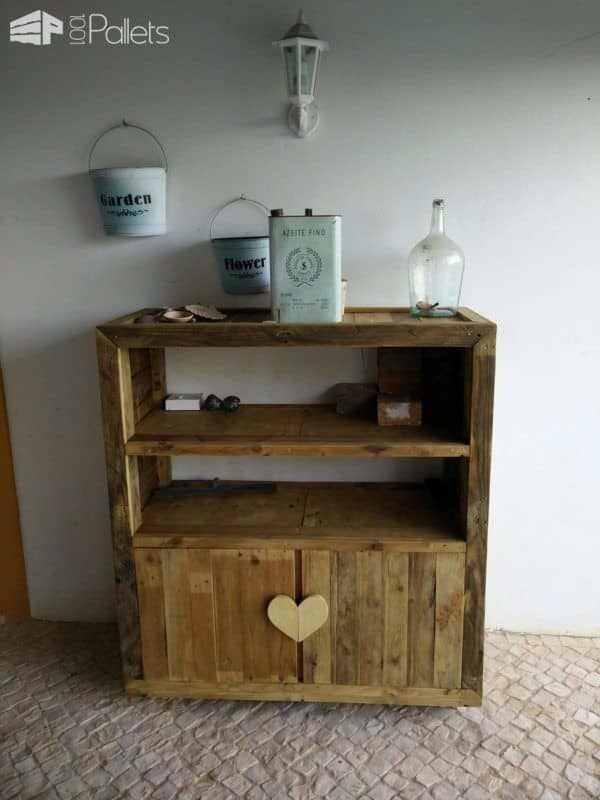 Cabinets from pallets pallet ideas 1001 pallets - Cupboards made from pallets ...