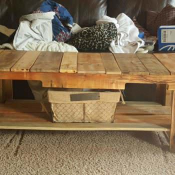 Custom Pallet Table