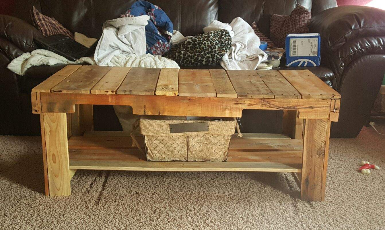 Custom pallet table pallet ideas 1001 pallets for Table palette