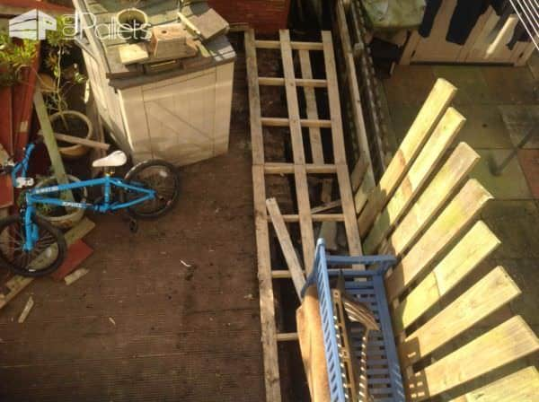 Decking Extension Pallet Terraces & Pallet Patios