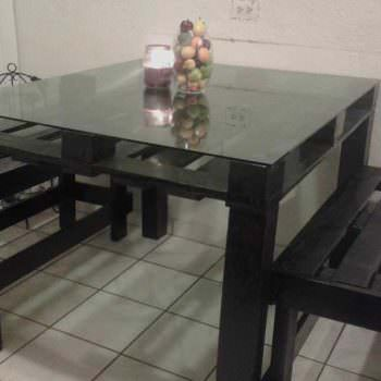 Dinner Table Project - One Pallet
