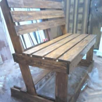 Diy : Benches from 2 Pallets