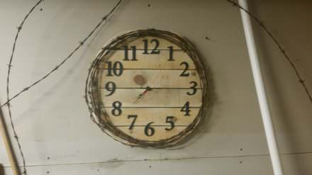 Pallet, Barbed Wire Clock