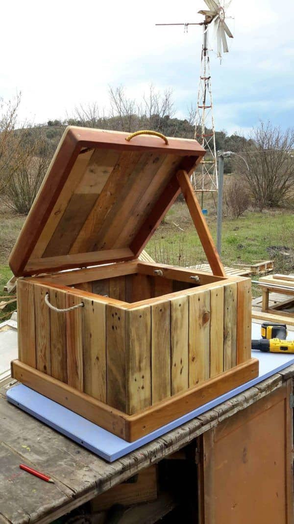 Pallet Chest/Seat Pallet Boxes & Chests