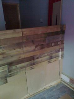 Shop Counter Clad With Pallet Wood 1001 Pallets