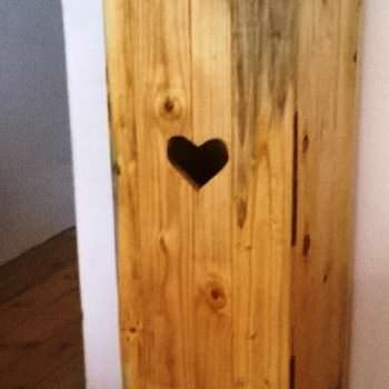 Tall Valentines Day Cupboard