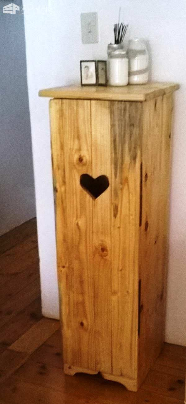 Tall Valentines Day Cupboard Pallet Boxes & Pallet Chests Pallet Home Accessories