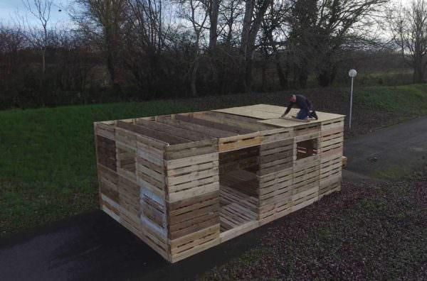What If You Could Build a Shelter from Pallets in One Day? Pallet Sheds, Cabins, Huts & Playhouses