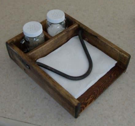 Bigger Isn't Necessarily Better: Pallet Napkin Holder