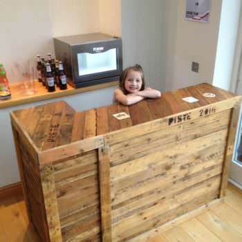 Diy: Pallet Bar Idea