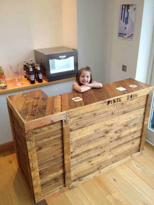 Awesome Diy Pallet Bar Ideas