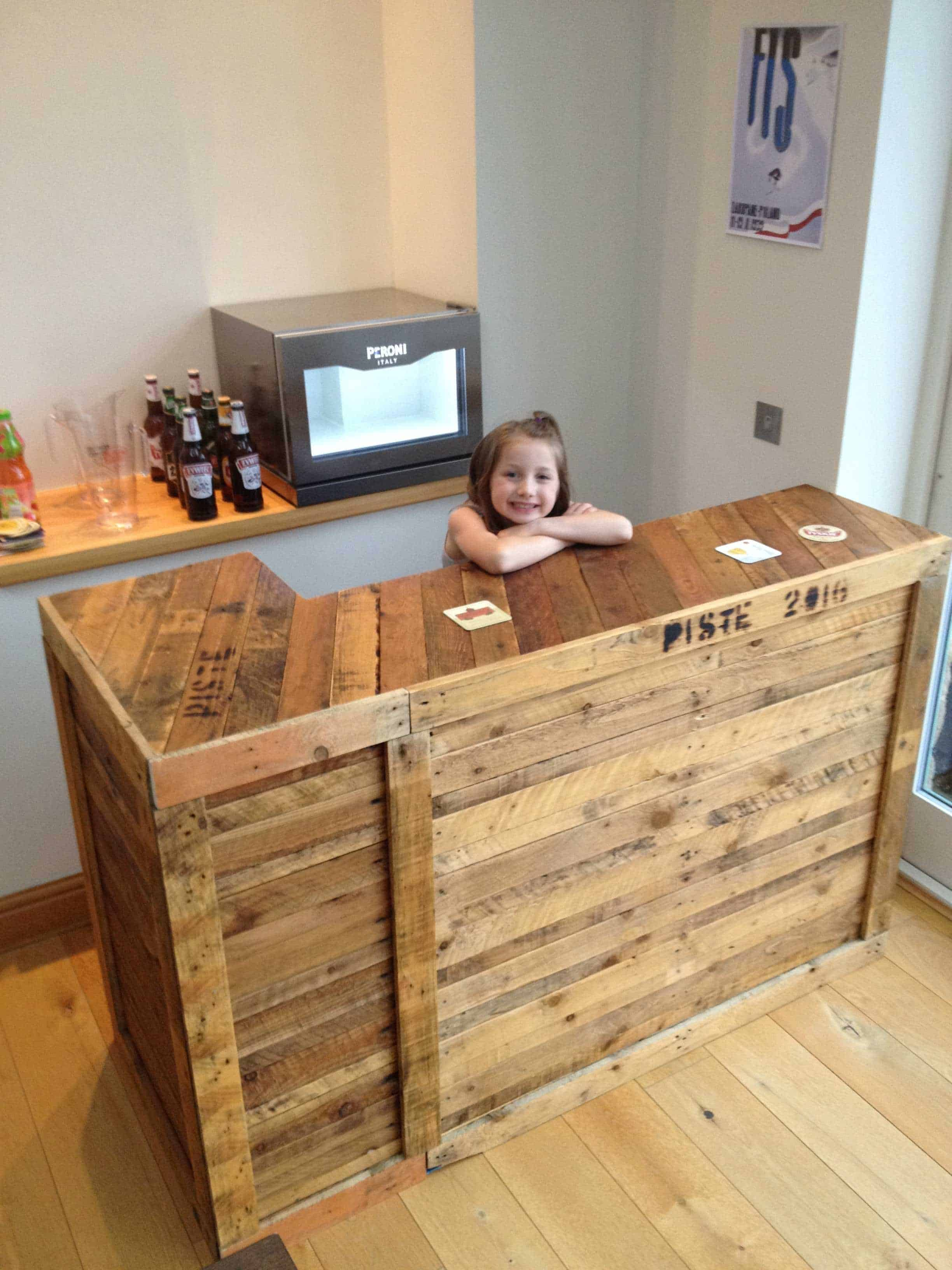 Diy: Pallet Bar Idea • 1001 Pallets