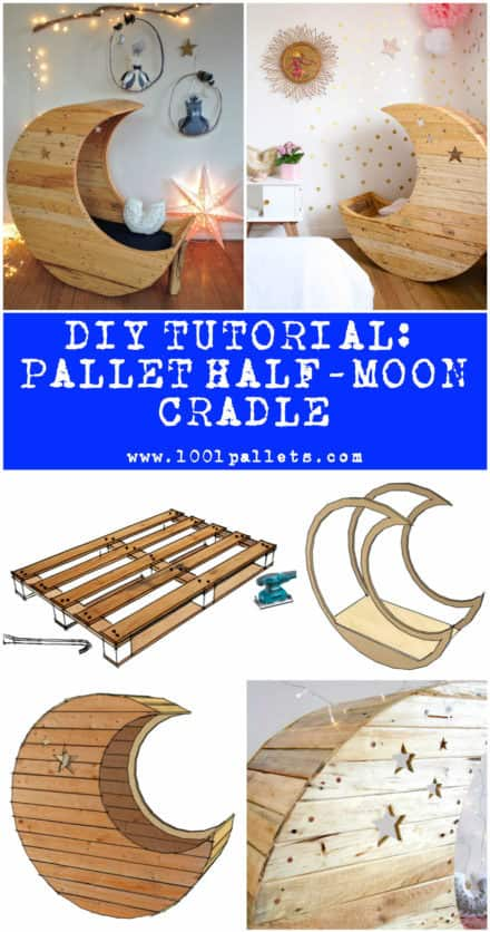 Diy Tutorial: Pallet Half-moon Cradle
