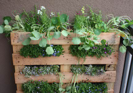 How to Make a DIY Pallet Garden Pallet Planters & Compost Bins Pallets in the Garden