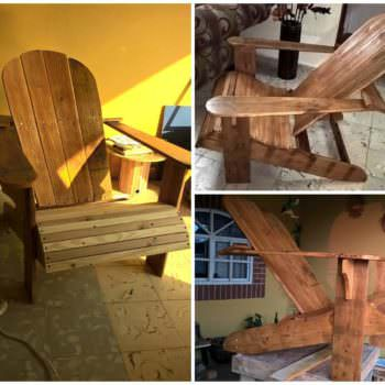 My Adirondack or Muskoka Pallet Chair