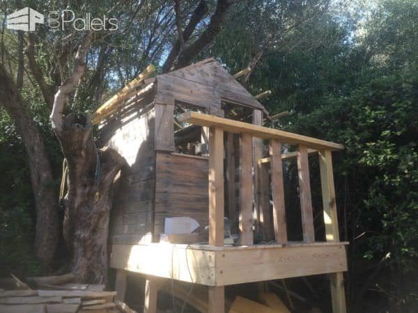 My Kids House in Pallet Wood Pallet Sheds, Pallet Cabins, Pallet Huts & Pallet Playhouses
