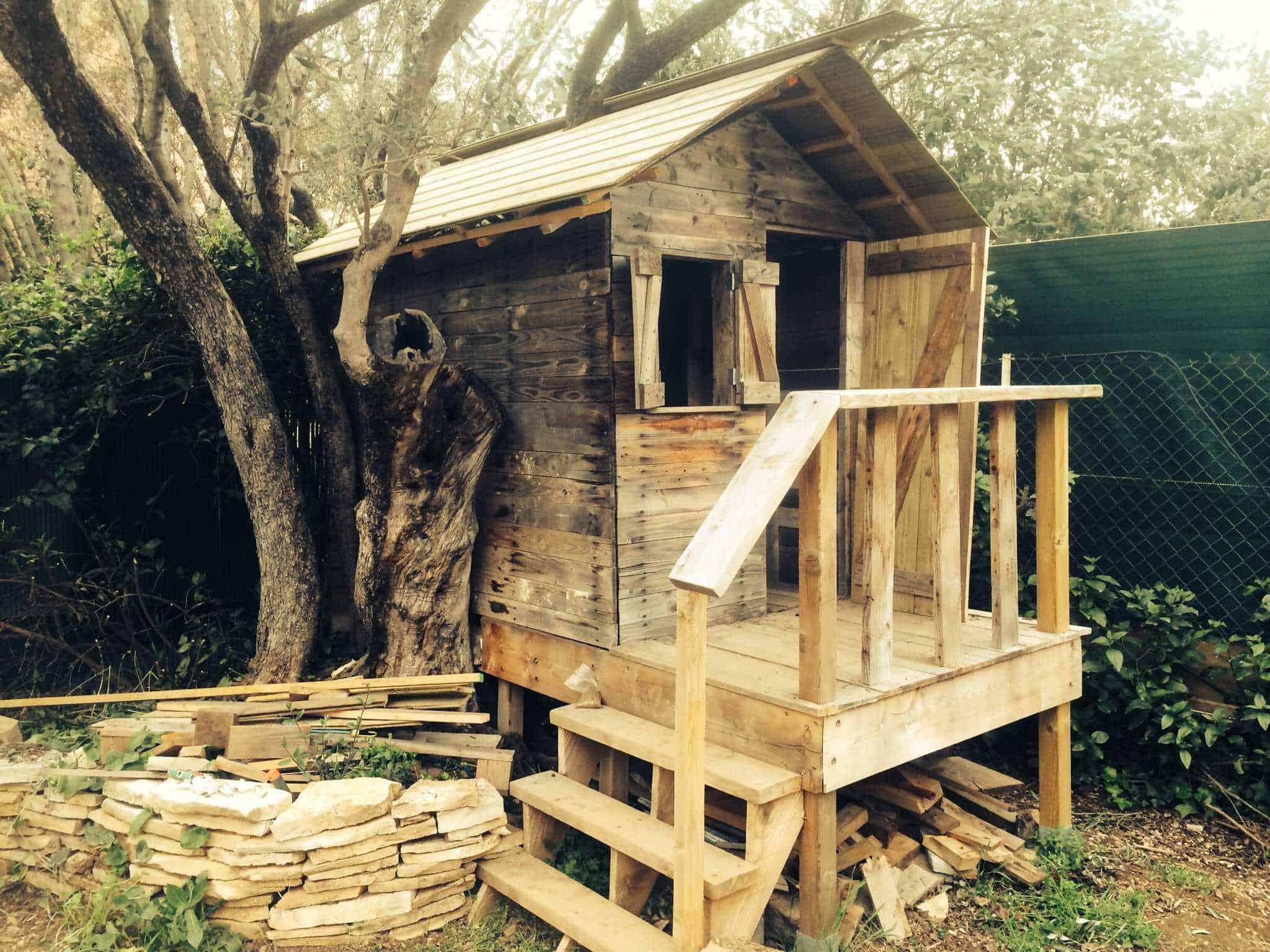 My Kids House In Pallet Wood 1001 Pallets