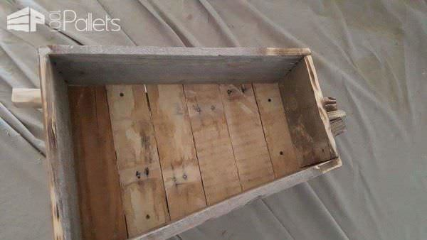 One Pallet Wheelbarrow Planter Pallet Planters & Pallet Compost