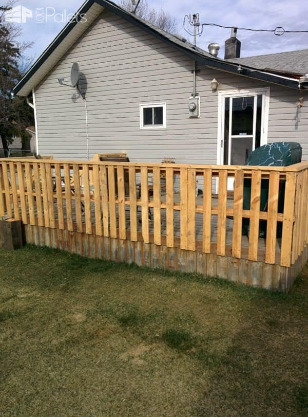 Outside Pallet Deck Pallet Terraces & Pallet Patios