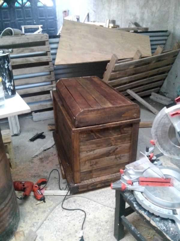 Pirate Chest - Baul Pirata Pallet Boxes & Chests