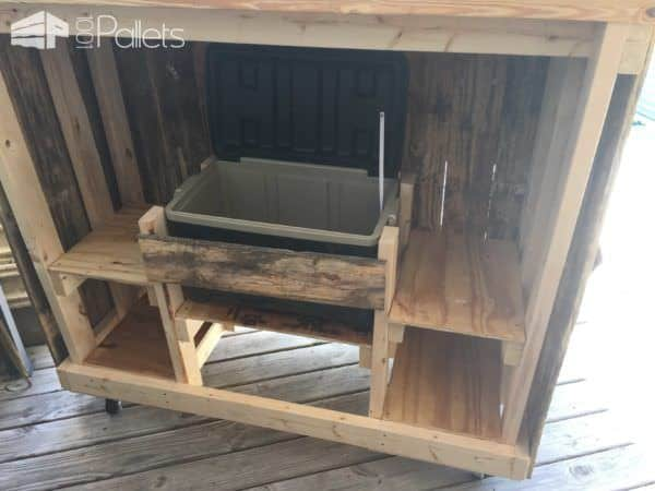Poolside Pallet Bar DIY Pallet Bars