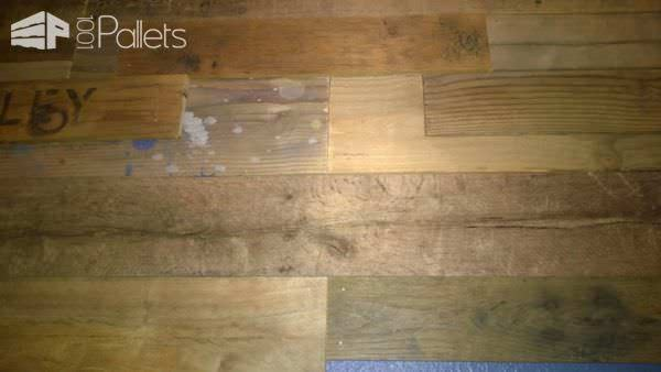 Reclaimed Pallet Wood Wall Pallet Walls & Pallet Doors