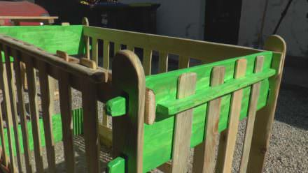 The Baby Pallet Bed