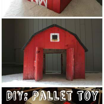 Toy Barn Made out of Pallets