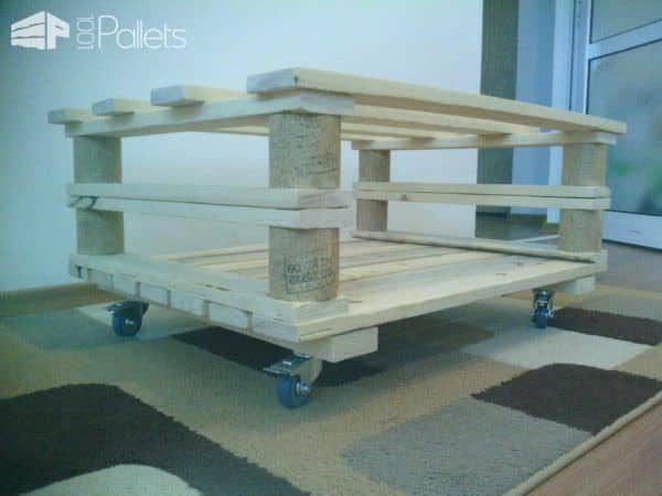 Two Pallets Coffee Table Pallet Coffee Tables