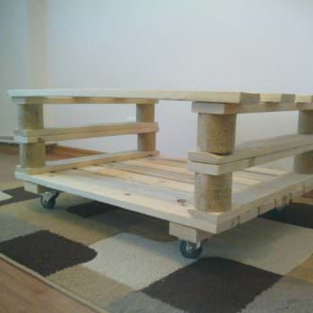 Two Pallets Coffee Table