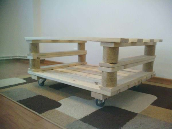 Two Pallets Coffee Table 1