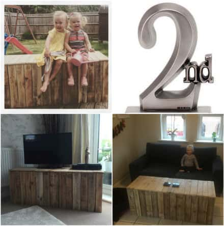 1001pallets Spring Contest 2nd Place: TV Unit Ouf Of Pallets
