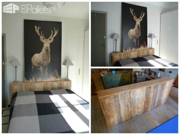 62 creative recycled pallet beds you 39 ll never want to - Lit palette de bois ...