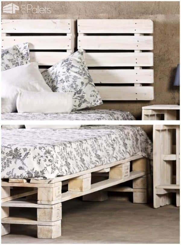 62 Creative Recycled Pallet Beds Youll Never Want To Leave 1001