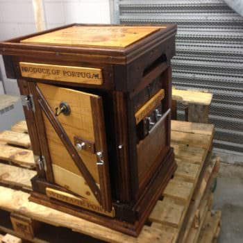 Amazing Pallet Wine Chest