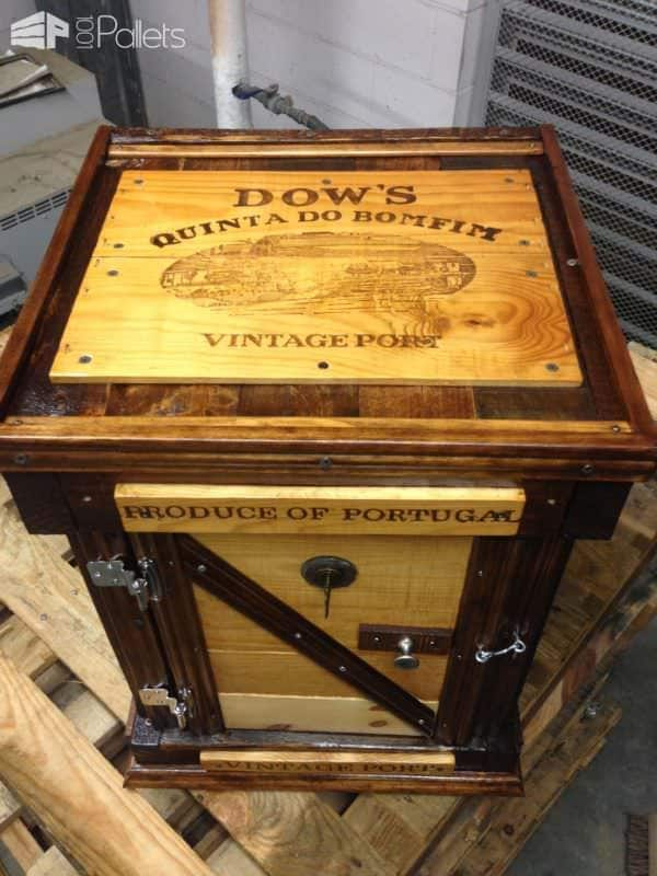 Amazing Pallet Wine Chest Pallet Boxes & Chests Pallet Home Accessories