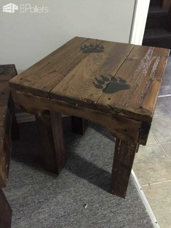 Bear Claw Coffee Table Amp End Tables 1001 Pallets