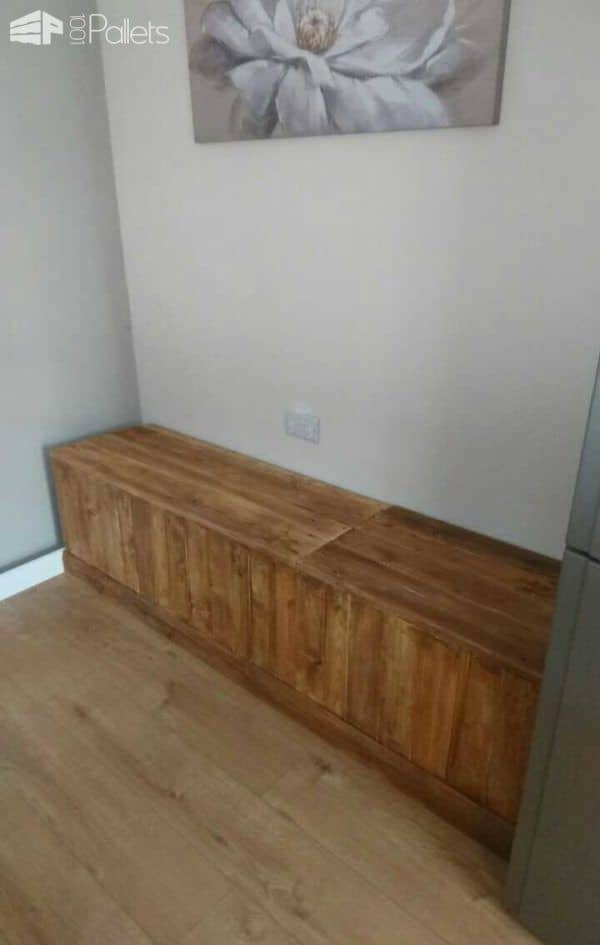 Bench Seat Pallet Benches, Pallet Chairs & Pallet Stools Pallet Boxes & Pallet Chests